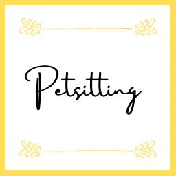 Petsitting